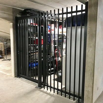 Custom Panel Fence